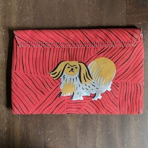 NWT Anthro Pilco & the Letterpress Clutch Lion Dog
